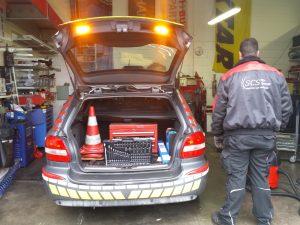 Pannenhilfsfahrzeug Abschlepp-Service